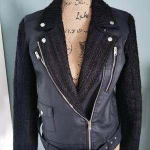 7 for All Mankind Mahalia Kent Moto Style Jacket